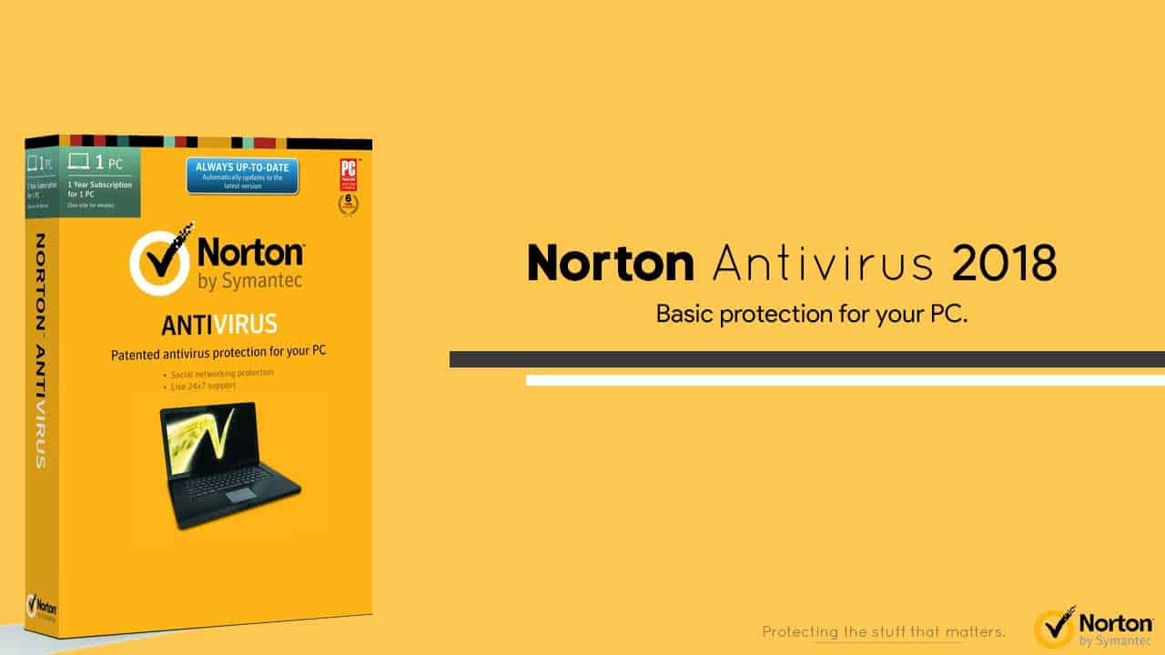 Norton Antivirus Best of 2018 Review